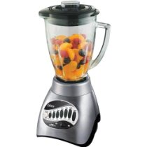 Blender Filled With Fruit Ready To Make A Smoothie.